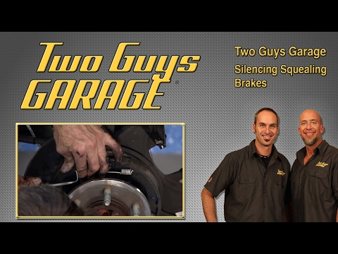 Silencing Brake Squeal on an F-150 | Two Guys Garage