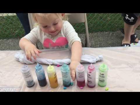 How- to Tie Dye shirts. Tulip Tie Dye Party Kit