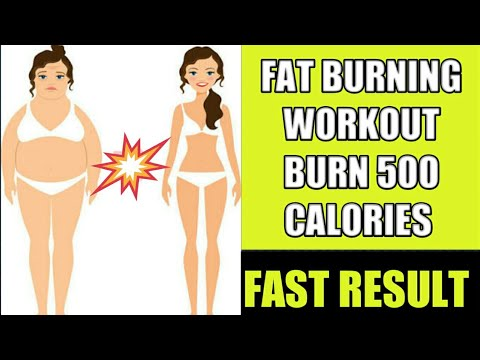 FAT BURNING CARDIO WORKOUT || BURN upto 500 CALORIES IN 10 MINUTES