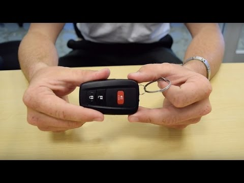 How to Replace a 2016 Prius Key Fob/Remote Battery