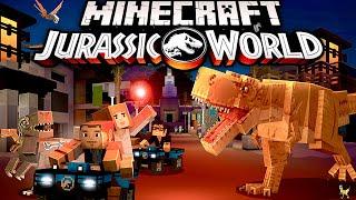 🦖 🦕 Minecraft Jurassic World is BACK! Incubating My FIRST DINOSAUR in Minecraft Jurassic World DLC!
