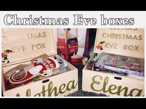 CHRISTMAS EVE BOXES - DIY & WHAT'S INSIDE! | My Fashion Cupboard Baby