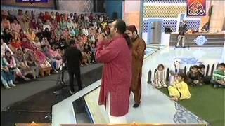 Amjad Sabri jisne Madine Jana at Noor e Ramazan HUM TV 14 July 2015