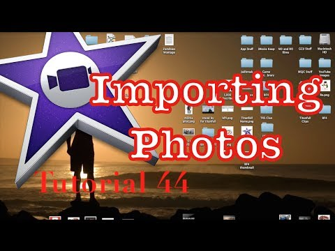 Importing Images into iMovie 10.0.4   Tutorial 44