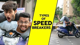 Types of Speed Breakers | Funcho