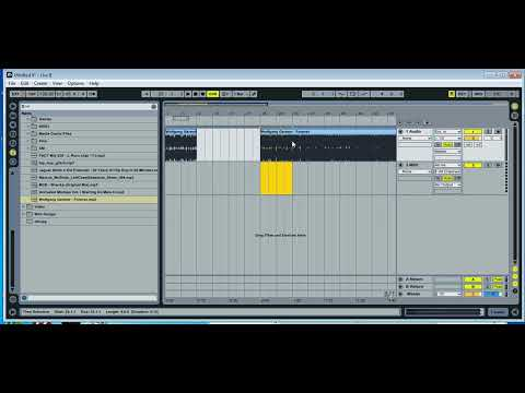 Creating A DJ Edit With Ableton Live