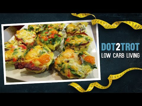 Low Carb Bacon And Egg Muffins
