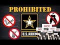 5 Things You Cant Do In An Army Uniform