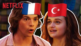 The Kissing Booth in Other Languages | Dub Swap | Netflix