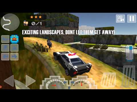 Blocky San Andreas SWAT Police 2 - HD Gameplay Video