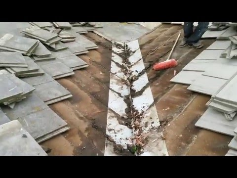 FIX YOUR LEAKY TILE ROOF, permanent fix, stop the water , cheap , enexpensive, great results!