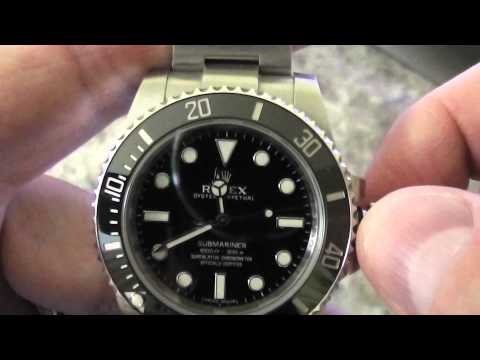 Rolex Submariner - How to Set Time