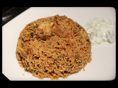 Easy Mutton biryani for beginners and bachelors!!