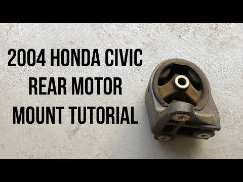 2004 Honda Civic Rear Motor Mount Replacement