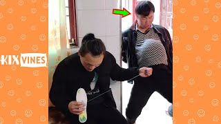 Funny videos 2021 ✦ Funny pranks try not to laugh challenge P171