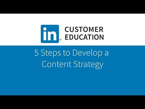5 Steps to Develop a Content Strategy