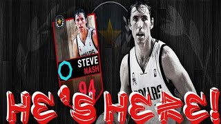 Steve Nash 94 Overall Reveal and Gameplay in NBA Live Mobile | New Legend Card