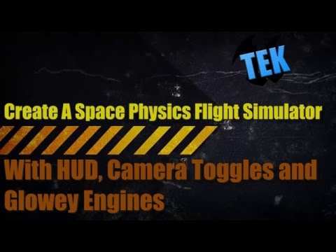 Create a Space Flight Physics Simulator in Unreal Engine 4