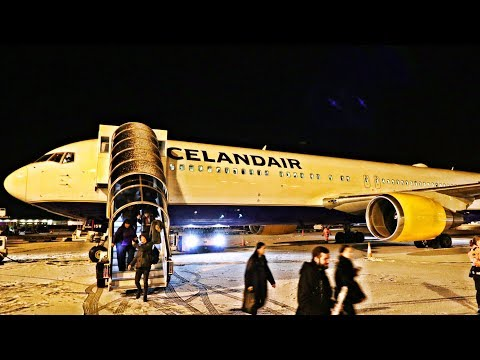 WORLD'S NORTHERNMOST AIRLINE | Icelandair Business Class to MY FIRST TALK SHOW APPEARANCE