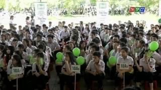 Đài THPT Cần Thơ đưa tin Giao lưu Trường THPT Trần Đại Nghĩa - Cần Thơ