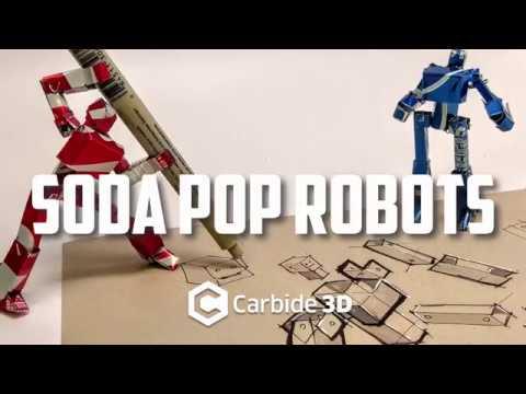 Soda CAN Pop ROBOTS