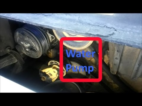 How To Change a Cat Water Pump On C7, 3126, and C9 Engines.