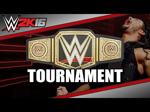 WWE 2K16 (Live on Twitch.TV): The Deadliest Game Tournament