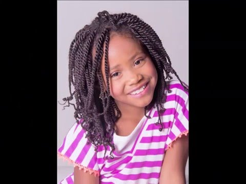 Cool Braids Ideas For Girls | Picture Set Of Lovely Kids Hairstyle With Twist & Natural Styles