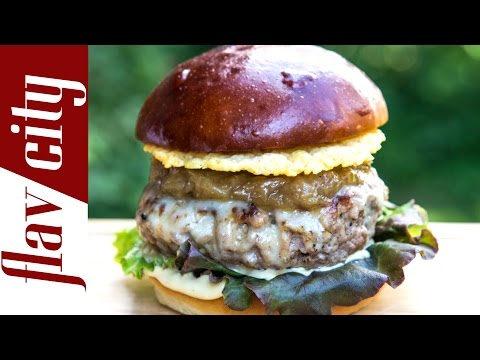 French Onion Burger - FlavCity w/ Bobby