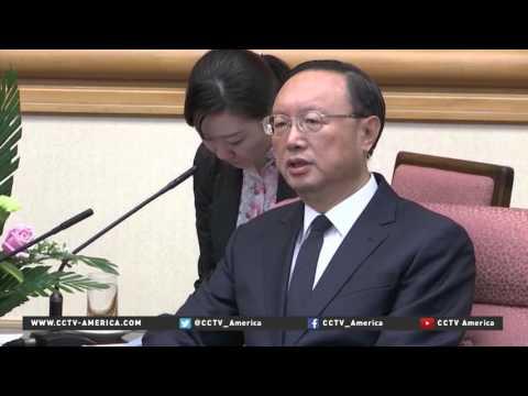 Japan FM meets Chinese Premier to talk easing tensions, visa regulations
