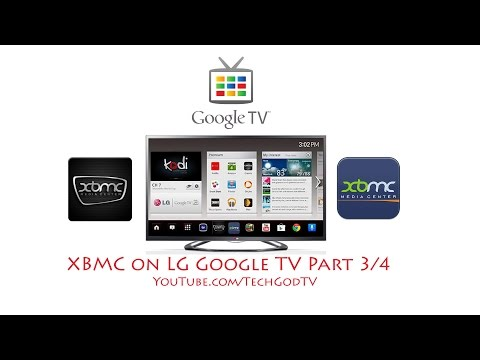 XBMC on LG Google TV (Part 3/4) - Launch XBMC