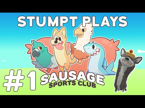 Sausage Sports Club - #1 - Floppy Fighters (4-Player Gameplay)