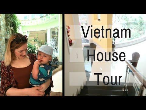 Vietnamese HUGE House Tour. Ho Chi Minh City, Vietnam