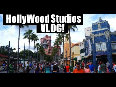 Hollywood Studios VLOG! and Cape May Cafe, BoardWalk