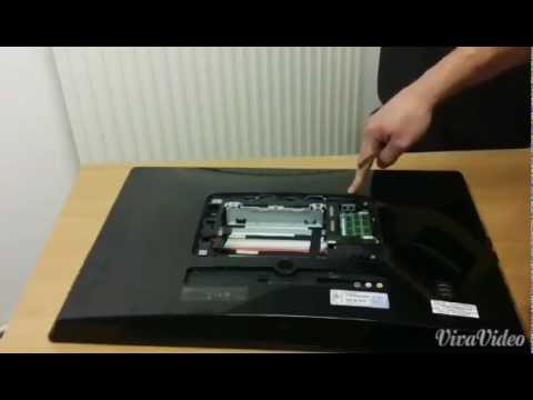 Replace Ram&Hdd on Sony Vaio VPCL2 personal Computer