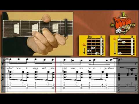 Norwegian Wood - Guitar Lesson - Beatles