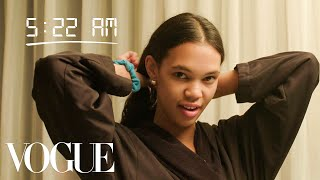 How Top Model Jordan Daniels Gets Runway Ready | Diary of a Model | Vogue