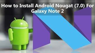 How to install Note 7 rom on any Korean note 2 SHV E250 SLK