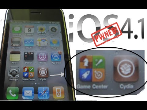 4.1 jailbreak (iOS 4.1) Works on iPhone 4 iPod Touch 4G and iPad