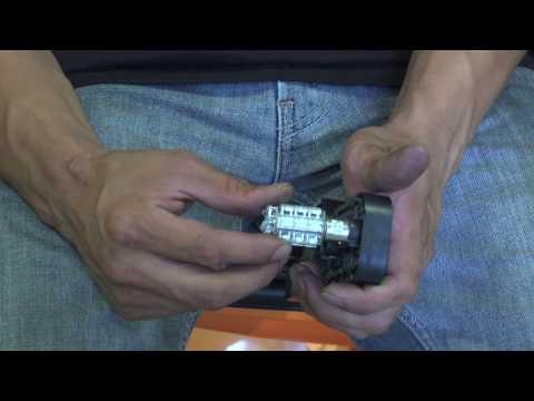 smart car Rear LED Install