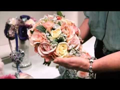 Bridal Crystal Bouquets wedding show video