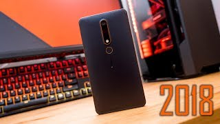 Nokia 6 2018(2nd Gen) Unboxing: Poor Use of Space?