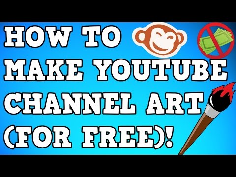 How to make YouTube channel art w/ Picmonkey (USE TRIAL TO GET FREE)!