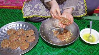 Kachay Keemay Ky Kabab    Made At Home    Village Style Kabab #SecretsOfGilgit