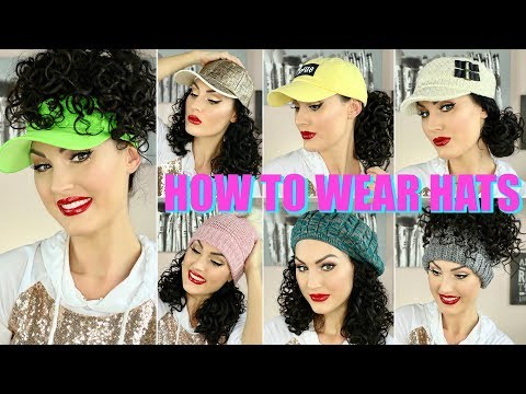 HOW TO ROCK HATS WITH CURLY HAIR   THE GLAM BELLE