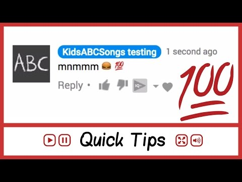 🙌 😎  How To Put Emojis In YouTube Comments ( for desktops 💻) ❤️ 💯  - FAQ Tube