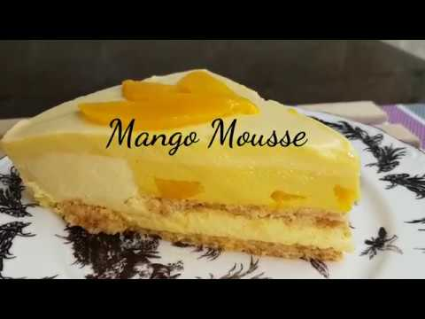 How to make Mango Mousse cake
