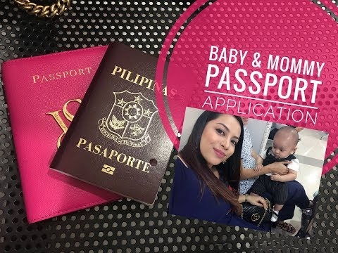Baby Passport Application & My Passport Renewal