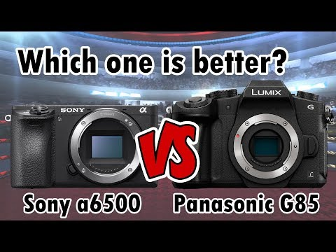 Sony a6500 vs Panasonic G85 | Why I bought the Sony a6500 | RehaAlev