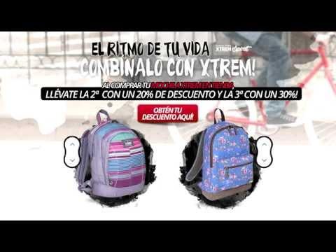 Combina tu mochila Xtrem